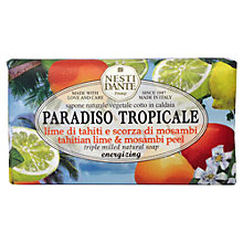 Buy Nesti Dante Paradiso Tropicale Tahitian Lime and Mosambi Peel Soap, 250g Online at johnlewis.com