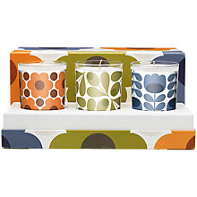 Buy Orla Kiely Mosaic Scented Candle Gift Set Online at johnlewis.com