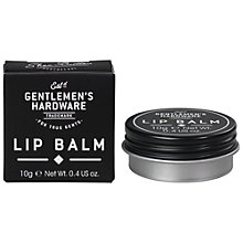 Buy Gentlemen's Hardware Lip Balm Online at johnlewis.com
