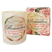 Buy Nesti Dante Romantica Florentine Rose and Peony Scented Candle Online at johnlewis.com