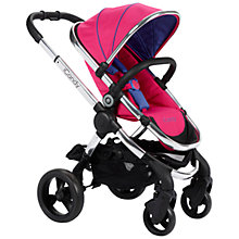 Buy iCandy Peach Pushchair with Chrome Chassis & Bubblegum Hood Online at johnlewis.com