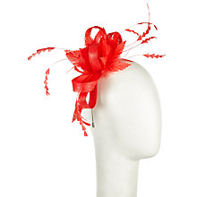Buy John Lewis Lara Flower Sinamay Loop Fascinator Online at johnlewis.com