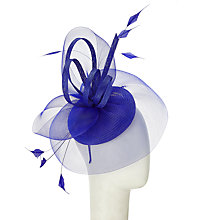 Buy John Lewis Crin Pillbox Fascinator, Cobalt Online at johnlewis.com
