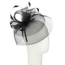 Buy John Lewis Eva Loopy Crin Fascinator Online at johnlewis.com