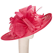 Buy John Lewis Tess Large Brim Occasion Hat, Lipstick Online at johnlewis.com