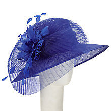Buy John Lewis Darcy Crin and Feather Occasion Hat Online at johnlewis.com
