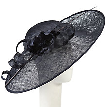 Buy Snoxells Lora Large Disc and Flower Occasion Hat Online at johnlewis.com