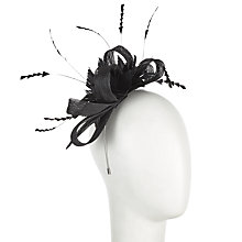 Buy John Lewis Lara Flower Sinnamay Loop Fascinator Online at johnlewis.com