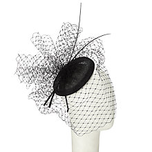 Buy John Lewis Amber Veiling and Quills Fascinator Online at johnlewis.com