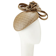 Buy Whiteley Enya Pillbox Occasion Hat, Caramel Online at johnlewis.com