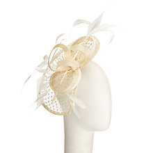 Buy Snoxells Diamante Teardrop Fascinator Online at johnlewis.com