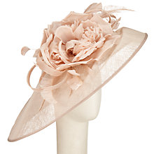 Buy Peter Bettley Elsi Down Brim Flower Occasion Hat Online at johnlewis.com
