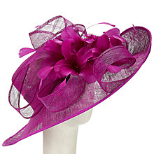 Buy John Lewis Kiera Sinamay Upturn Hat Online at johnlewis.com