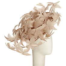 Buy Peter Bettley Flora Flower Disc Occasion Hat, Oyster Online at johnlewis.com