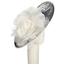 Buy John Lewis Lucia Velvet Flower Disc Occasion Hat Online at johnlewis.com