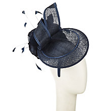 Buy John Lewis Gina Net Fascinator, Navy Online at johnlewis.com