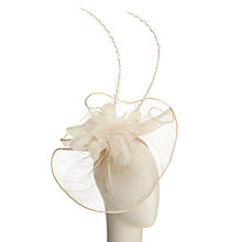 Buy John Lewis Joy Long Quills Fascinator, Champagne Online at johnlewis.com