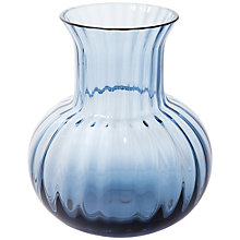 Buy Dartington Crystal Bijou Vase, Ink Blue Online at johnlewis.com