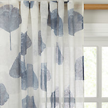 Buy John Lewis Waterlilies Hidden Tab Top Voile Panel Online at johnlewis.com
