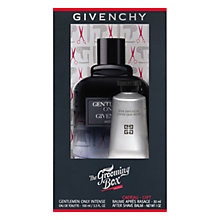Buy Givency The Grooming Box Gentlemen Only Intense 100ml Eau de Toilette Gift Set Online at johnlewis.com