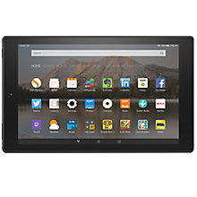 "Buy New Amazon Fire HD 10 Tablet, Quad-core, Fire OS, 10.1"", Wi-Fi, 16GB Online at johnlewis.com"