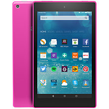 "Buy Amazon Fire HD 8 Tablet, Quad-core, Fire OS, 8"", Wi-Fi, 8GB Online at johnlewis.com"
