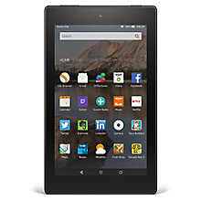 "Buy New Amazon Fire HD 8 Tablet, Quad-core, Fire OS, 8"", Wi-Fi, 8GB Online at johnlewis.com"