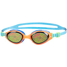 Buy Speedo Childrens' Holowonder Swimming Goggles, 6-14 Years Old, Smoke/Red/Blue Online at johnlewis.com