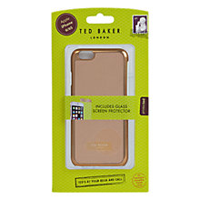 Buy Ted Baker Renaye iPhone 6 Case, Rose Gold Online at johnlewis.com