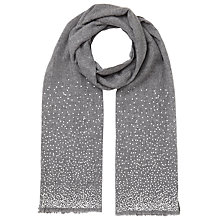 Buy John Lewis Scattered Foil Wool Scarf Online at johnlewis.com