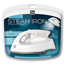 Buy Go Travel Mini Garment Iron Online at johnlewis.com