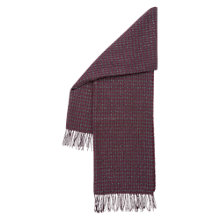 Buy Hobbs Esther Sparkle Scarf, Pink Online at johnlewis.com