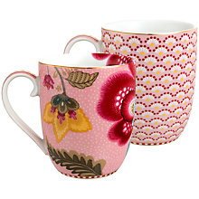 Buy PiP Studio Bloomingtales & Fantasy Mugs, Set of 2 Online at johnlewis.com