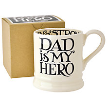 Buy Emma Bridgewater Black Toast Father's Day Half Pint Mug Online at johnlewis.com