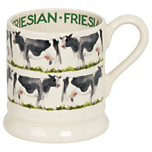Buy Emma Bridgewater Fresian Cow 1/2pt Mug Online at johnlewis.com