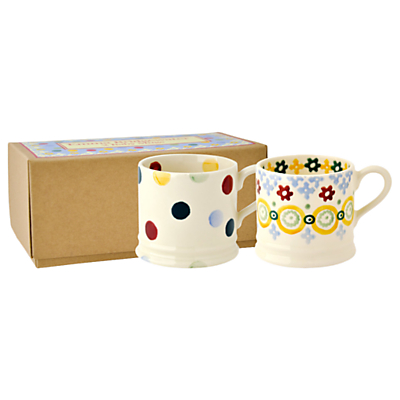 Emma Bridgewater Polka Dot Baby Mugs, Set of 2