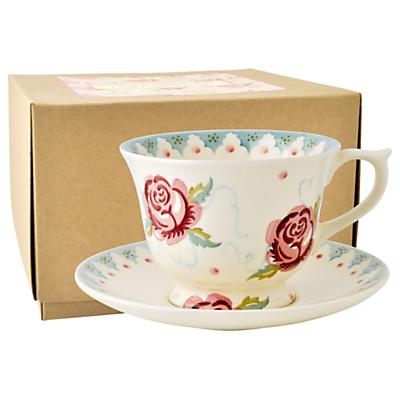 Emma Bridgewater Rose & Bee Cup & Saucer