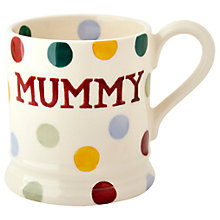 Buy Emma Bridgewater Polka Dot Mummy Mug Online at johnlewis.com