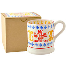 Buy Emma Bridgewater The Queens 90th Birthday Mug Online at johnlewis.com