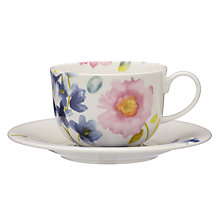 Buy bluebellgray Fine China Teacup and Saucer, Set of 2 Online at johnlewis.com