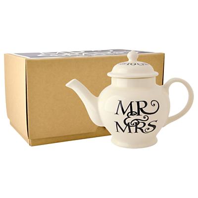 Emma Bridgewater Black Toast Mr & Mrs Teapot