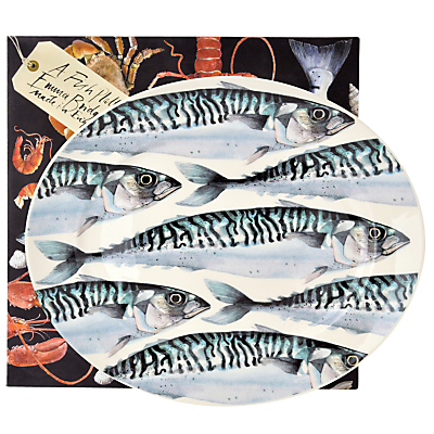 Emma Bridgewater Black Toast Mackerel Medium Oval Platter
