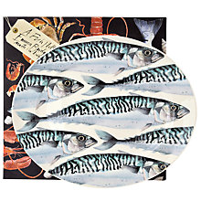 Buy Emma Bridgewater Black Toast Mackerel Medium Oval Platter Online at johnlewis.com