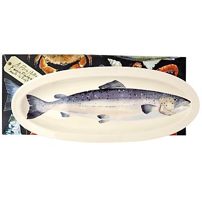 Emma Bridgewater Black Toast Salmon Long Platter