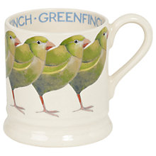 Buy Emma Bridgewater Greenfinch 1/2pt Mug Online at johnlewis.com