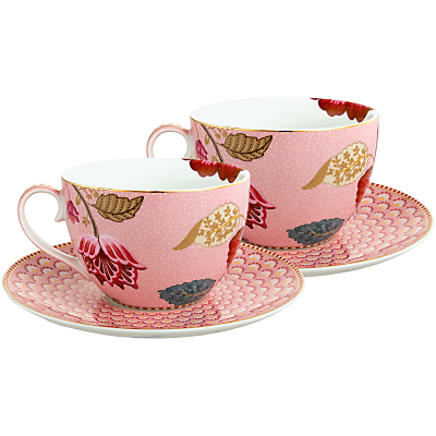 PiP Studio Fantasy Cup & Saucer, Set of 2