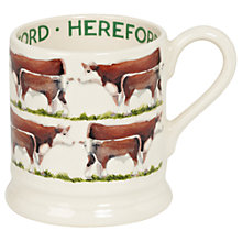 Buy Emma Bridgewater Hereford Cow Half Pint Mug Online at johnlewis.com