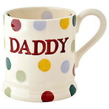Buy Emma Bridgewater Polka Dot Daddy Mug Online at johnlewis.com