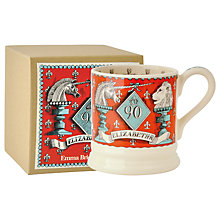 Buy Emma Bridgewater Queens 90th Birthday Unicorn & Lion Half Pint Mug Online at johnlewis.com
