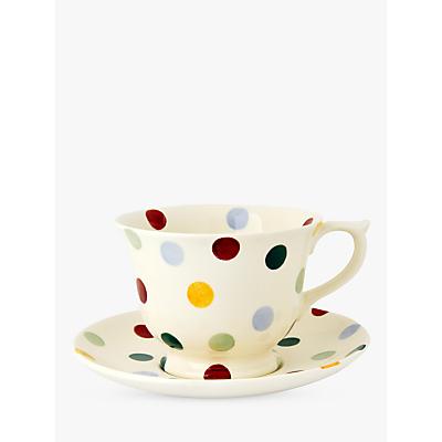 Emma Bridgewater Polka Dot Tea Cup & Saucer